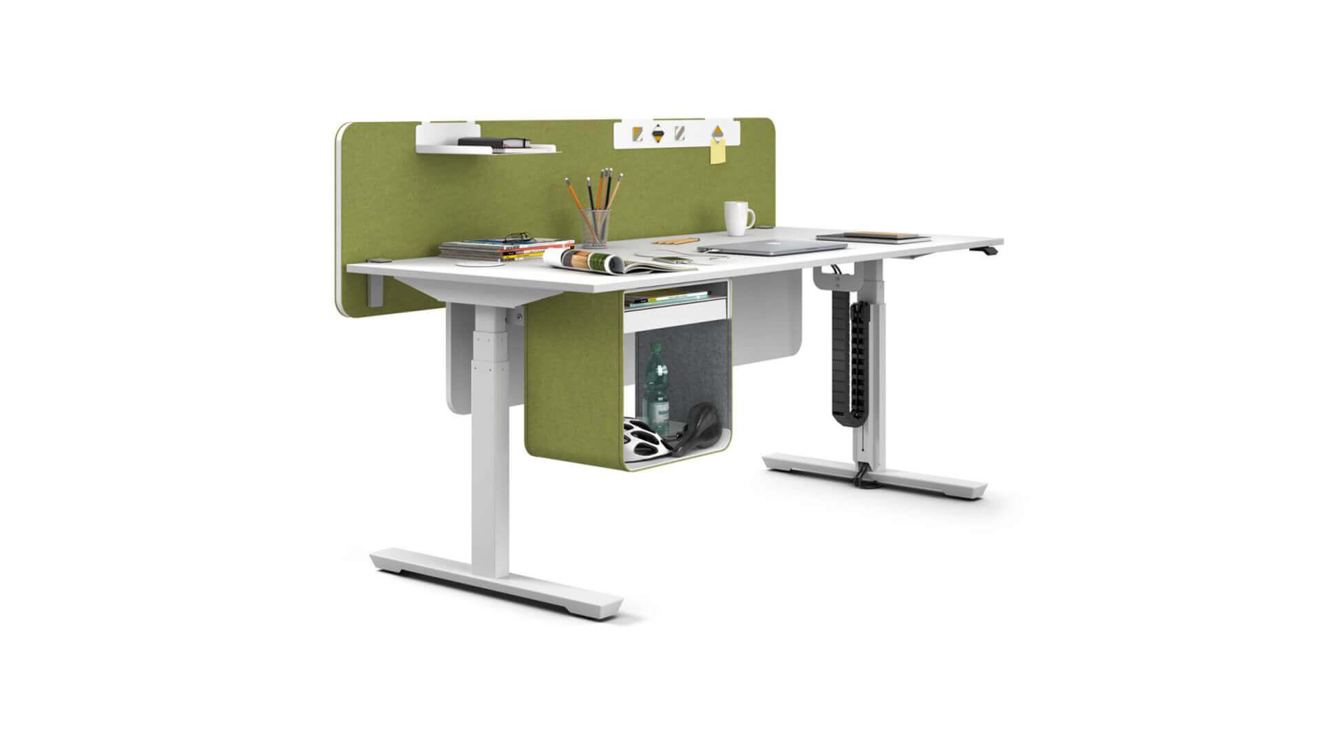 Mesa operativa TCare totalmente adaptable