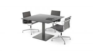 Mesa de reuniones Cuadrat cuadrada