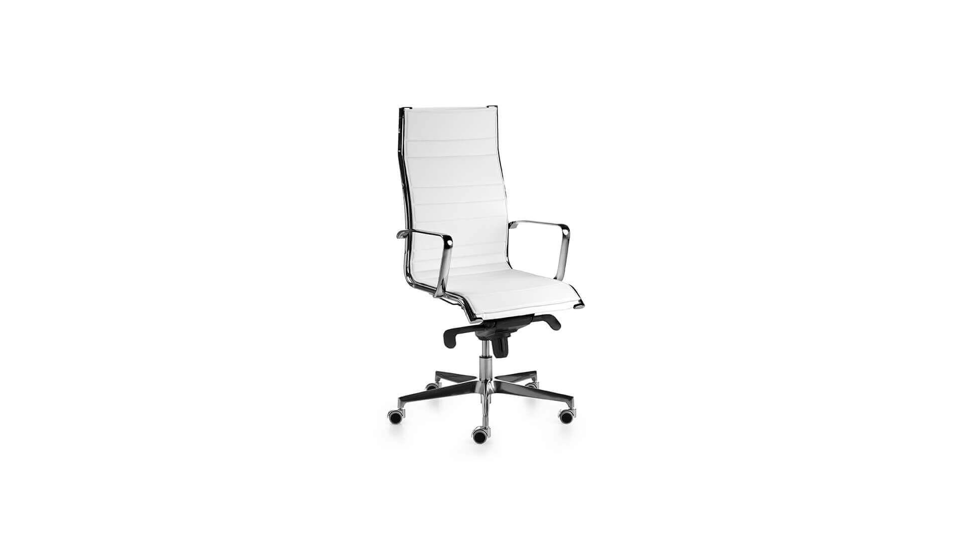 Silla dirección Acer+ blanco cómoda