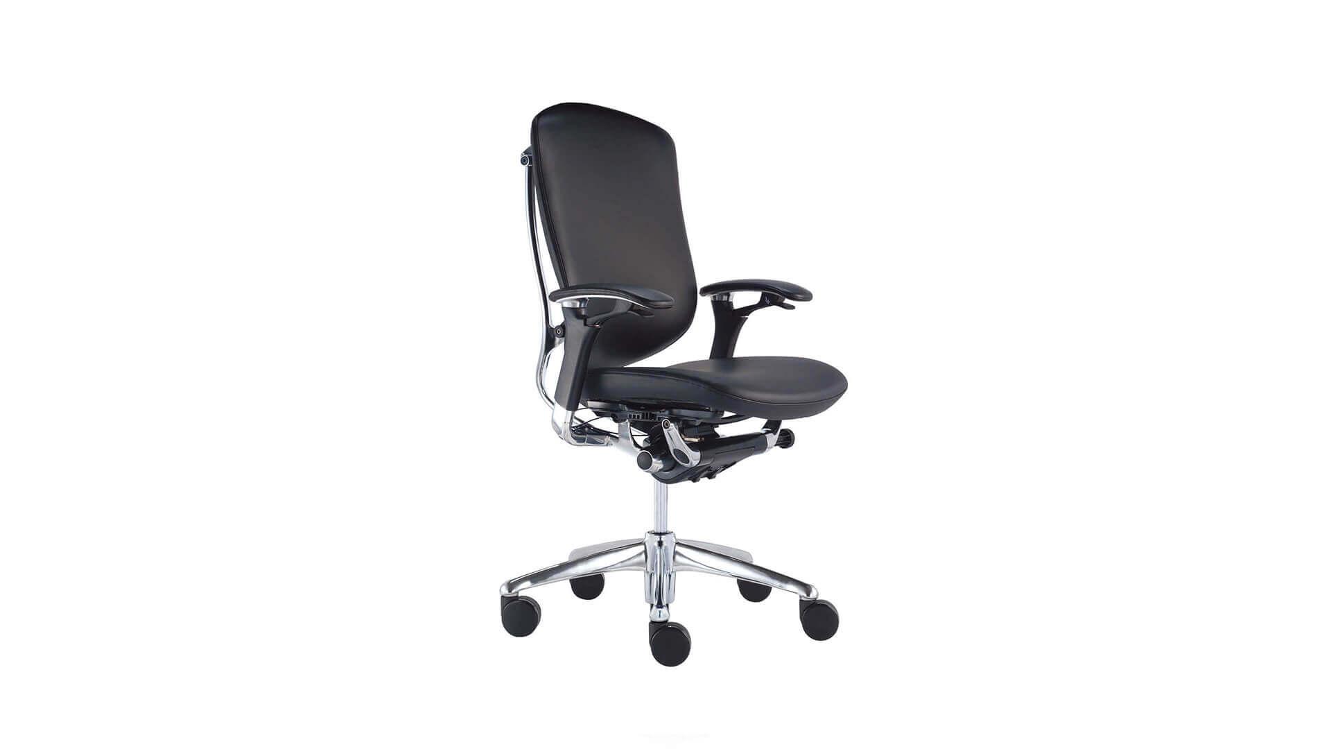 Silla para oficina operativa Okamura Contessa diseño ergonomico