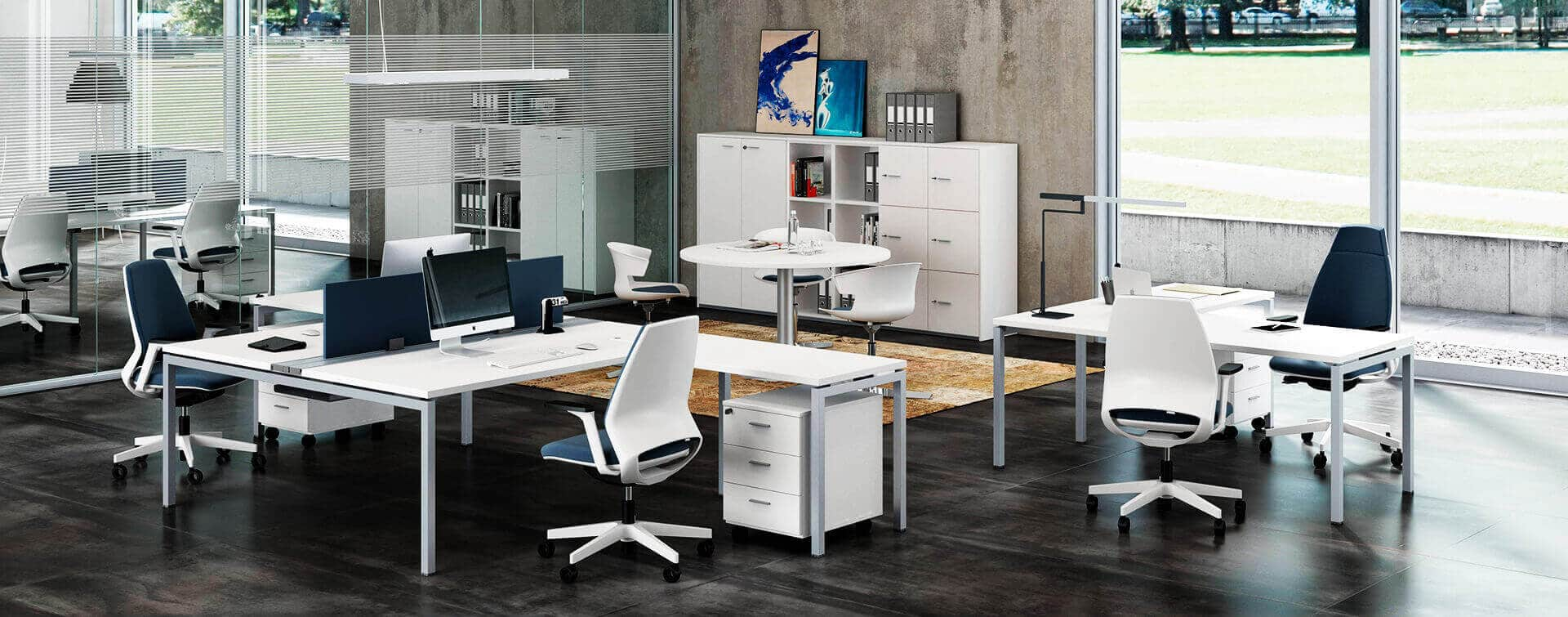 Ambiente oficina positivo para mejorar rendimiento trabajadores