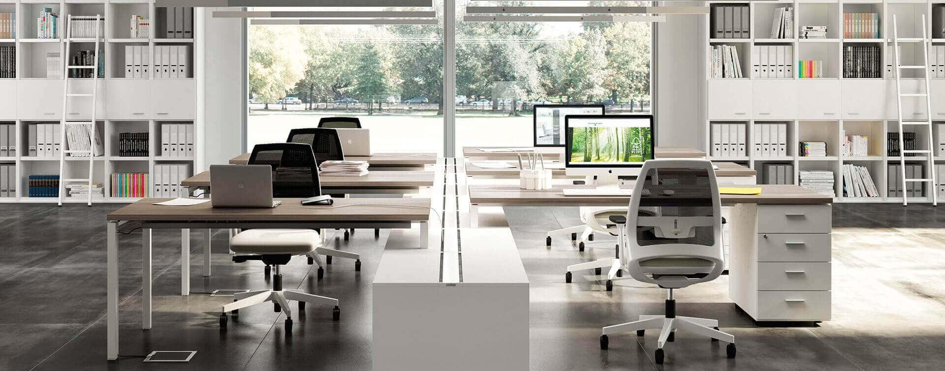 Ambientes de oficinas dinámicas