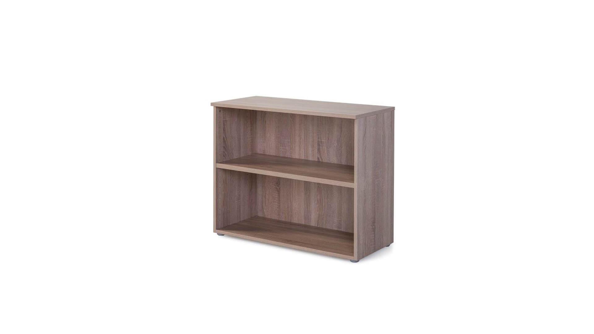 Armario para almacenaje en oficinas color madera