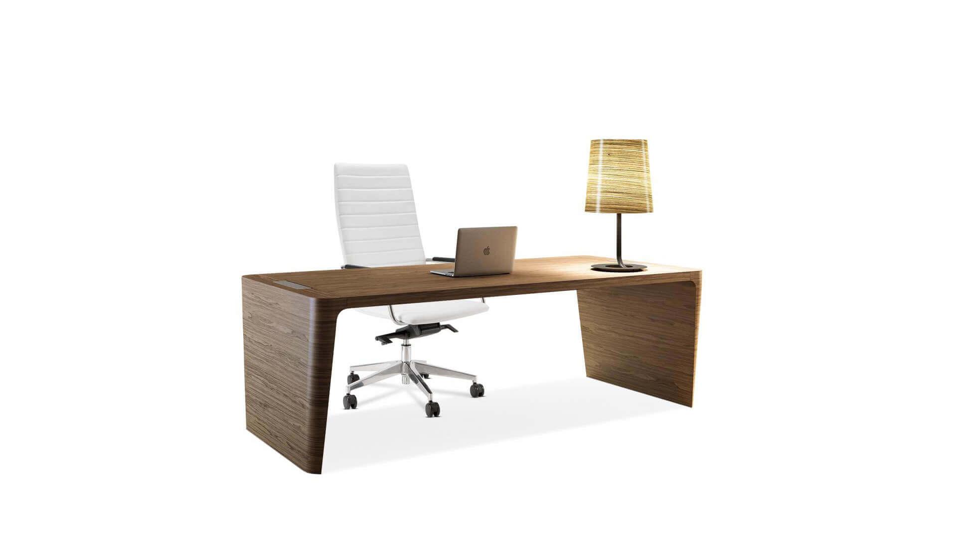Elegantes Escritorios De Oficina Modernos.Mesa De Despacho Transporte Y Montaje Incluido