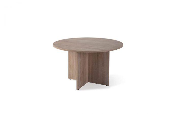 Mesa circular para reuniones