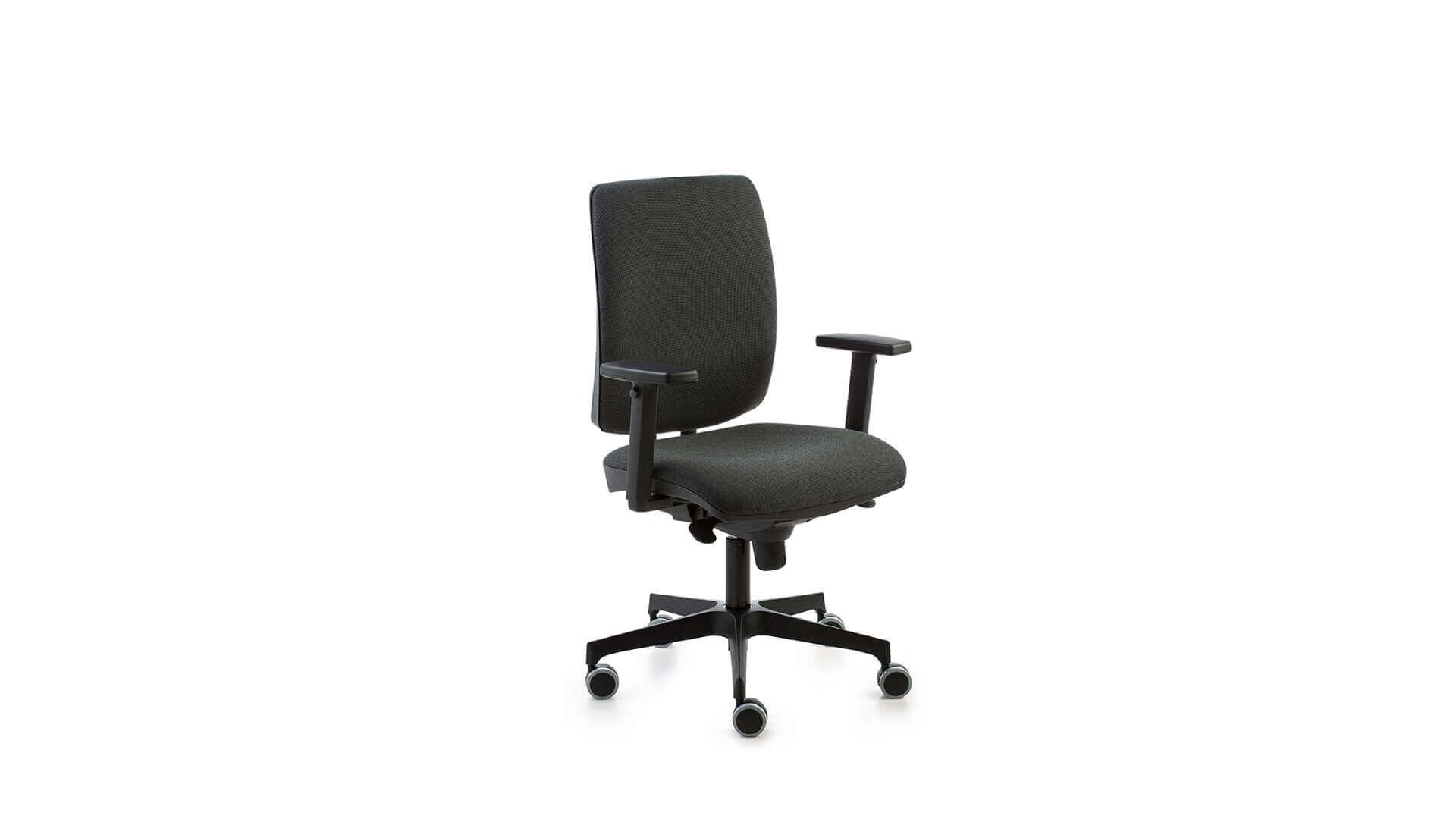 Silla para escritorios en oficinas adaptable