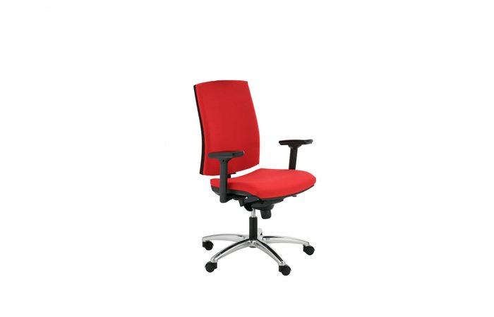 Silla de oficina ergonómica con respaldo regulable
