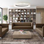 Sofá y sillón para zonas colaborativas y de espera