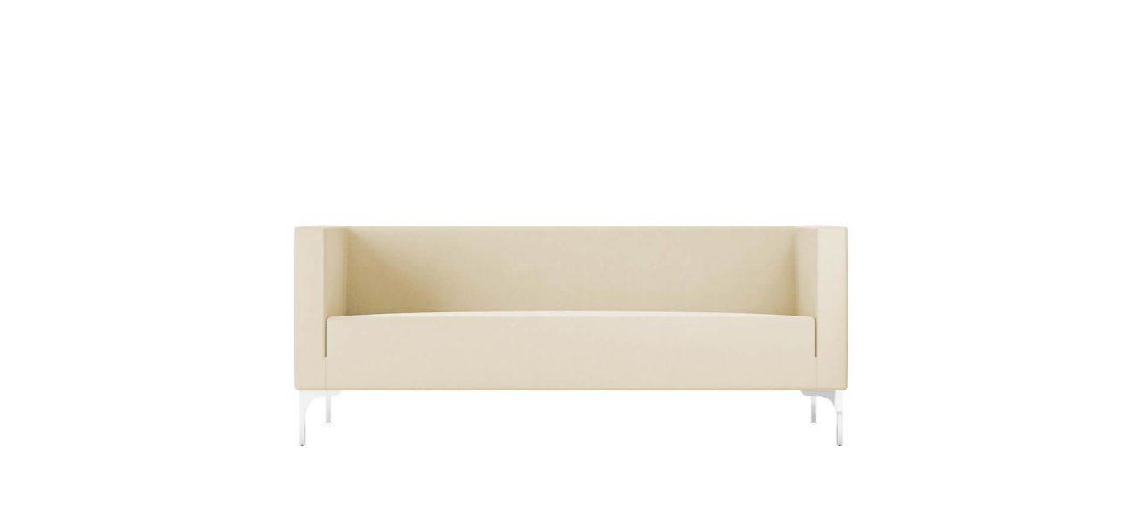 sofa grande de 3 asientos cómodo para oficinas