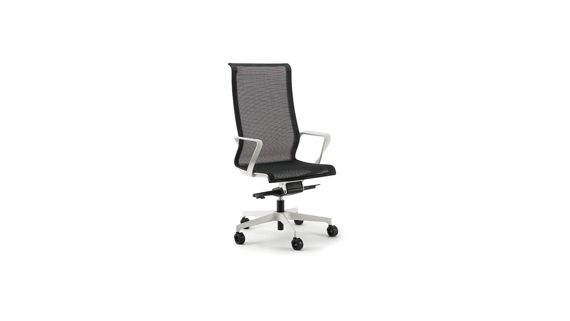 Silla para ejectuvios en despachos de oficina