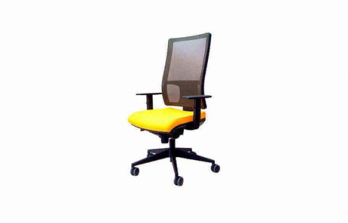 Silla cómoda para puestos de trabajo en oficinas