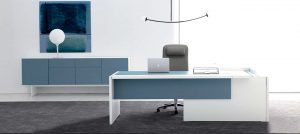 Mesa para despacho moderna