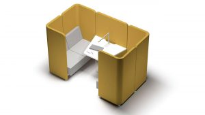 Espacio Soft Seating para reuniones