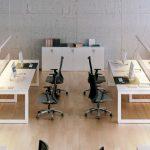 Mesa operativa elegante para oficina