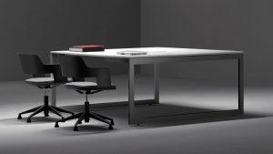 Mesa de diseño robusta