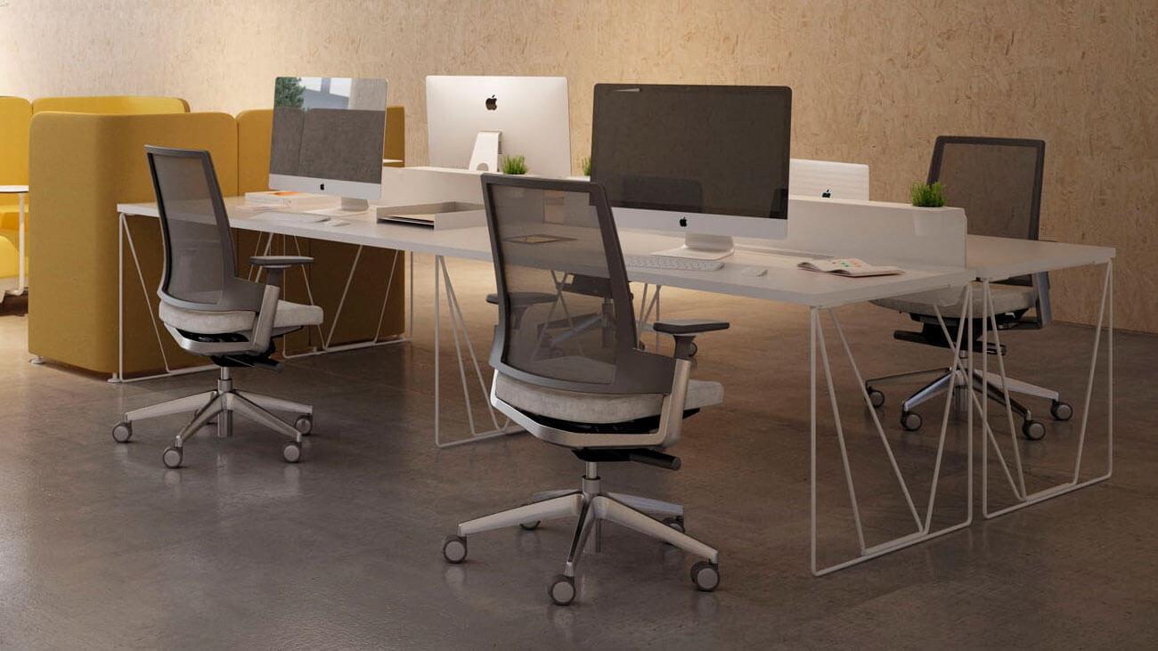 Mesa operativa para oficinas