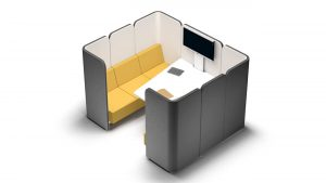 Soft Seating para presentaciones improvisadas