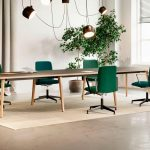 Mesa de reuniones sostenible